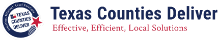 Texas Counties Deliver,  Link to www.texascountyiesdeliver.org
